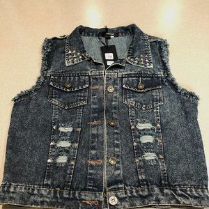 Jean Vest from Motorcycle boutique store